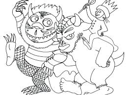 Wild Horse Herd Coloring Pages Where The Things Are Thing