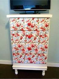 floral decoupage furniture. Floral Decoupage Furniture U