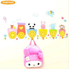 plastic wall hooks wall hooks for hanging clothes 1 pack cute cartoon stickers wall hooks plastic