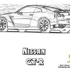 Nissan Gt R Coloring Page Free Printable Coloring Pages Adult
