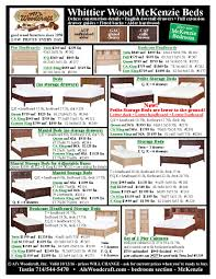 Mckenzie Bedroom Furniture Low Prices O Whittier Wood Mckenzie Bedroom Furniture With Prices