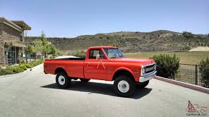 Chevrolet K20 C20 Pickup truck Fire 4X4