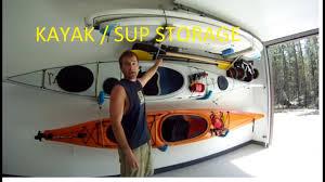 garage ideas diy kayak garage storageack systems for trucks ideas pictures system baskets kids ceiling bracket