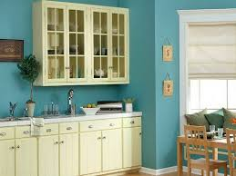 sky blue wall paint with cream white for cabinets kitchen wall paint colors with cream cabinets