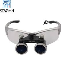 Cheap Dental Loupes With Light Hot Item High Quality 2 5x 3 5x Dental Loupes With Head Light