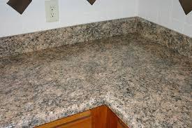 image of granite look alike laminate countertops corner