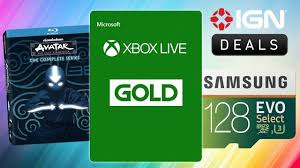 daily deals last day to get 1 year of xbox live gold for 39 99