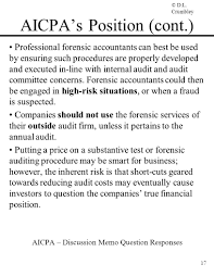 Forensic Accounting Some Strategies For Detecting Preventing