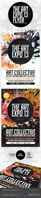 Art Event Flyer Art Show Flyer Graphics Designs Templates From Graphicriver