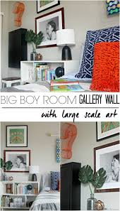 Large Scale Art Big Boy Room Choosing Large Scale Gallery Wall Art This Is Our