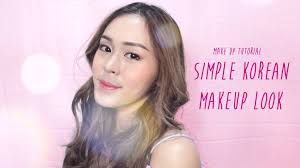 simple korean makeup clara ayu sheila bahasa indonesia