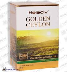 "<b>Чай Heladiv</b> ""GOLDEN CEYLON <b>Green</b> Gunpowder"" ""Порох ..."