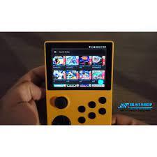 Máy Chơi Game Retroid Pocket Hệ Điều Hành Android/Linux Tích hợp 3000+ Games  PSP/PS1/N64/Arcade...