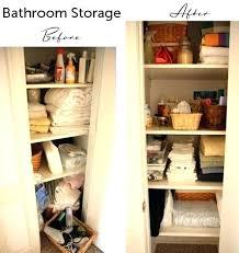 bathroom closet shelving. bathroom closet shelves storage more organized sink cabinet ideas shelving