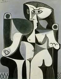 pablo picasso femme assise picasso black and white with 118 works will be at