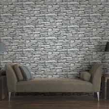 arthouse moroccan stone wallpaper in