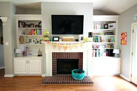 cover brick fireplace with stone how to cover a brick fireplace with stone veneer brick fireplace