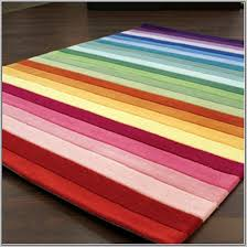 ikea rainbow striped rug rugs home decorating ideas ikea blue white striped rug