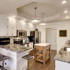 white country kitchens. Gorgeous White Country Kitchens Pictures Granite Counters Decor Cabinets  Chandelier Seating French White Country Kitchens