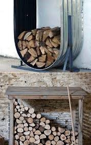 outdoor firewood storage rack plans wood holder futuristic log ideas build designs stacking frame how to