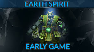 earth spirit guide by 7 3k mmr pro early game as earth spirit