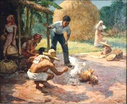 old filipino paintings go philippines fernando c amorsolo the grand old man of