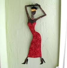 exotic african lady cool african wall