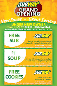 Free Grand Opening Flyer Template Subway Restaurant Grand Opening Flyer Design Tight Designs