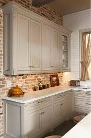 faux painting ideas for kitchen walls. faux brick wall. i do not like the adjacent white tile would want painting ideas for kitchen walls r
