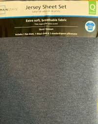 mainstays knit jersey sheet set purple