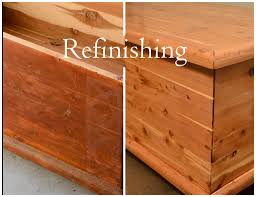 picture of refinishing old furniture