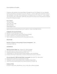 accounting resume template resume badak accounting resume examples