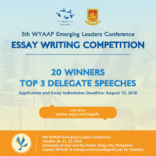 world youth alliance wyaap launches essay writing competition