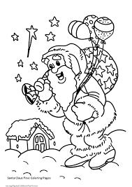 Inspirational Santa With Rudolph Coloring Pages Doiteasyme