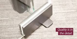 gp 3 frameless glass patch door closer