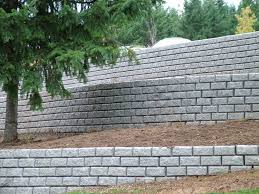 inexpensive retaining wall blocks designs