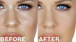 how to fix touch up oily foundation simple trick for perfect all day makeup