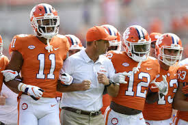 Clemson Football Depth Chart 2019 Clemson Lets Almost The Whole Roster Play Destroys Good