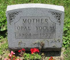 Opal Fink Yocum (1904-1933) - Find A Grave Memorial