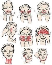 Resultado de imagem para massagem facial