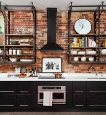 95 stylish kitchens with brick walls