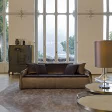 contemporary italian chocolate brown sofa