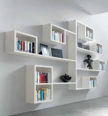 minimalist white wall shelf ikea wall