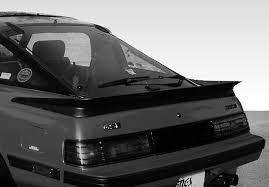 mazda rx7 1985 racing. mazda rx7 factory style wrap around spoiler 79 80 81 82 83 84 85 1985 racing