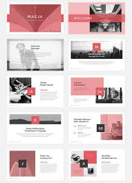 Presentation Design Templates Maeja Presentation On Behance Presentation Design