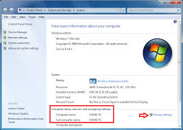 Changing Computer Name In Windows 7 Technet Articles United