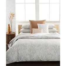 gallery of calvin klein home bamboo flowers bedding collection 100 cotton unusual white comforter liveable 10