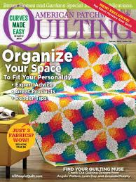 American Patchwork & Quilting February 2016 | AllPeopleQuilt.com & February 2016 Adamdwight.com