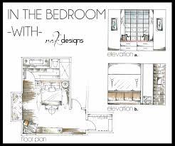 Drawn Bedroom Basic Interior Design #11