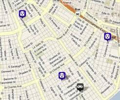 garden district new orleans walking tour map. Three Garden District New Orleans Walking Tour Map E